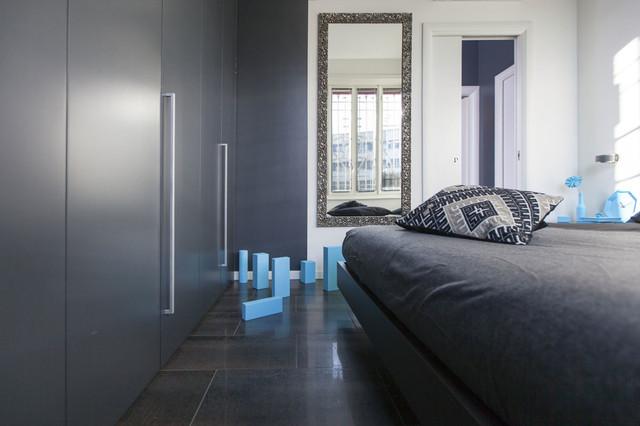 Camere Da Letto Design Minimalista : Stanza da letto design minimalista al mare camera da letto