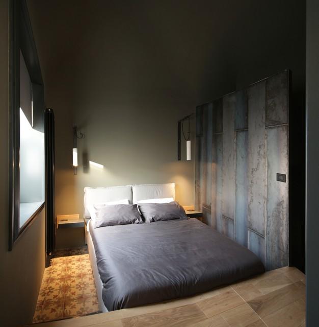 Ter contemporaneo camera da letto catania palermo for 4 piani di camera da letto