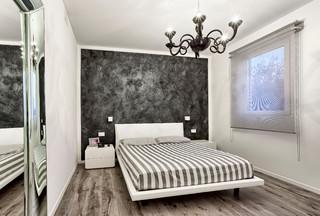 Camera da letto in bianco e nero - Foto e idee | Houzz