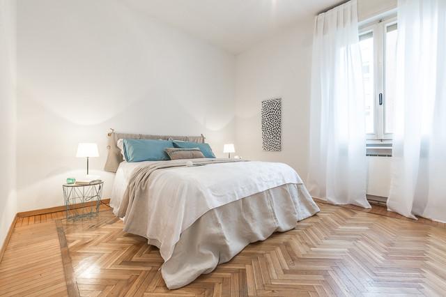 Zen tiffany venduto in 24 gioni con l 39 home staging contemporaneo camera da letto bologna - Camera da letto zen ...