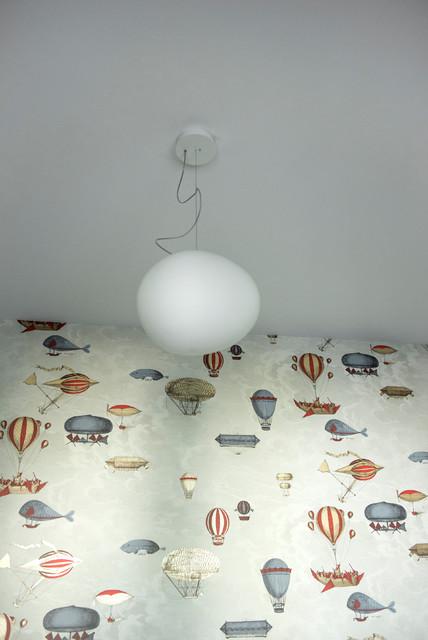 Lampade Design Camera Da Letto.Camera Da Letto Per Bambini Dettaglio Lampada A Sospensione