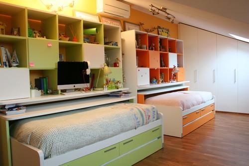Idee Cameretta Bambini Piccola : Una cameretta per due 10 soluzioni darredo per separare i letti