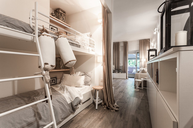 Coastal style in open space - Shabby-Chic Style - Kids - Bologna ...