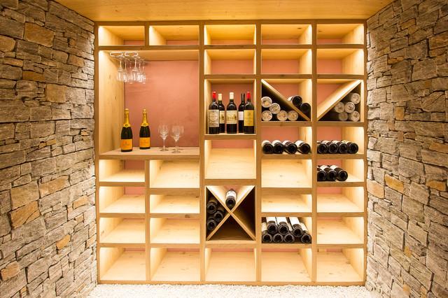 Exceptionnel Création d'une cave à vin - Contemporary - Wine Cellar - Lyon - by  ZF68