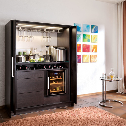 Un am nagement bar dans le salon votre avis - Amenagement bar a vin ...