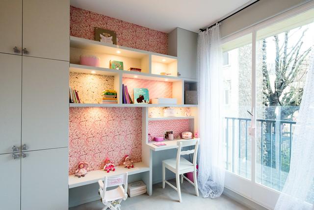 Cómo montar una zona de estudio en casa en un cuarto compartido 9