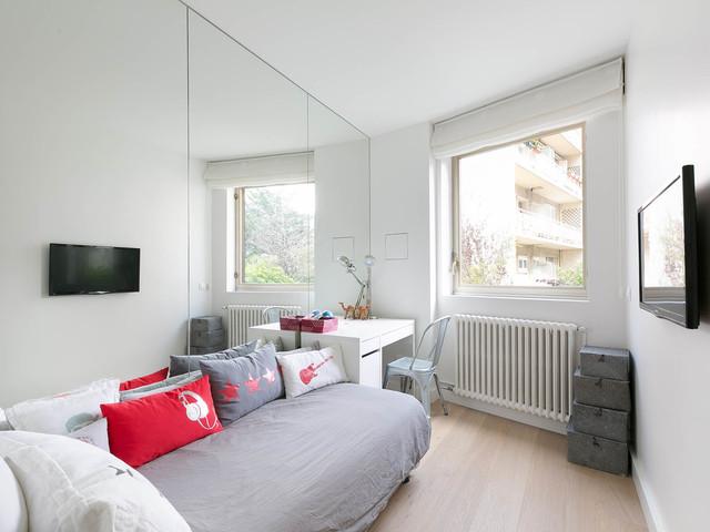 Appartement design paris 07 - Chambre enfant scandinave ...