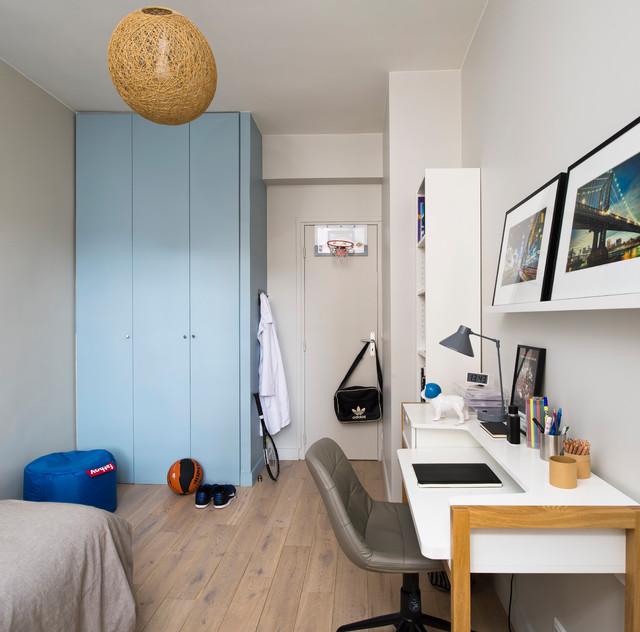 Appartement paris 15 me en duplex contemporary kids for Duplex appartement paris