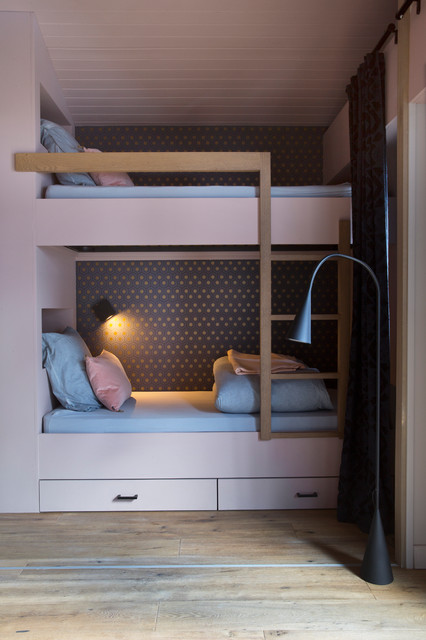 appartement r novation contemporary kids lyon by caf de balme. Black Bedroom Furniture Sets. Home Design Ideas