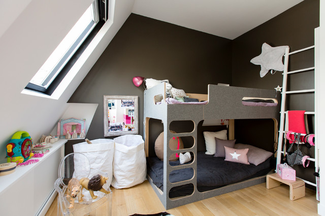 appartement spacieux et lumineux 65m2 chambre enfant scandinave chambre d 39 enfant paris. Black Bedroom Furniture Sets. Home Design Ideas