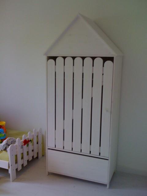 Armoire avec penderie et tiroir assorti au lit - Lit 180x200 avec tiroir ...