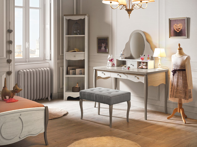 bureau coiffeuse demoiselle. Black Bedroom Furniture Sets. Home Design Ideas