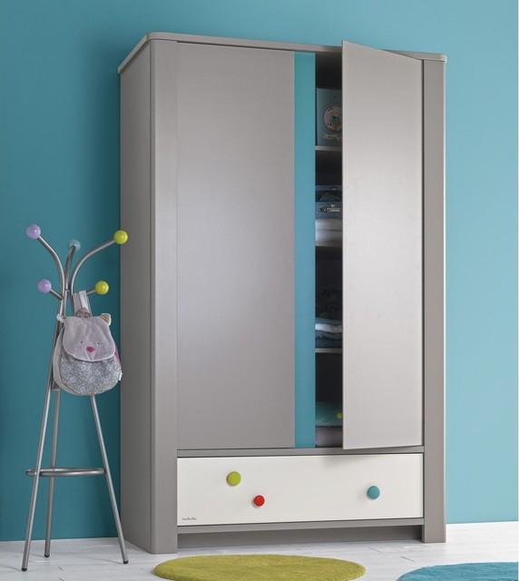 exceptional armoire chambre d enfant 13 calisson armoire 2 portes et 1tiroir contemporain. Black Bedroom Furniture Sets. Home Design Ideas