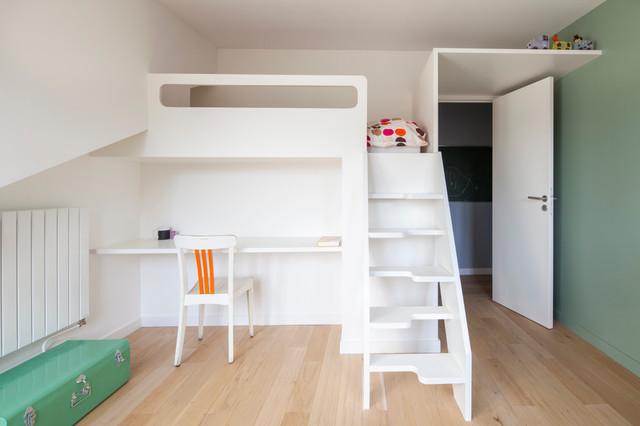 chambre enfant / mobilier sur mesure lit - bureau ...