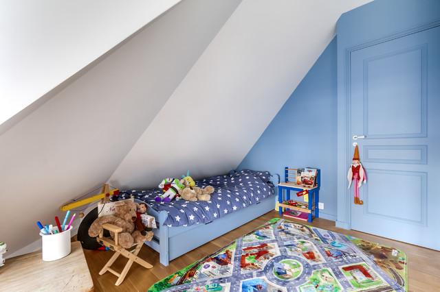 Chambre enfant sous les to ts - Chambre sous les toits ...