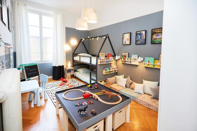 Chambre Garcons Montessori Transitional Kids Dijon