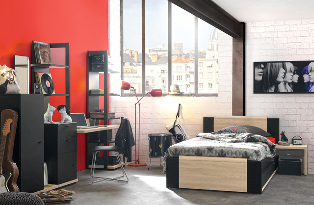 Chambre junior GAUTIER  Industrial  Kids  Other  by Meubles Rey