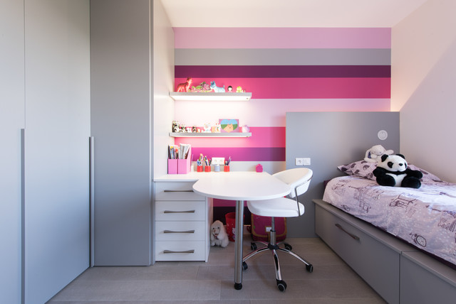 chambre contemporain chambre d 39 enfant paris par la cuisine dans le bain sk concept paris. Black Bedroom Furniture Sets. Home Design Ideas