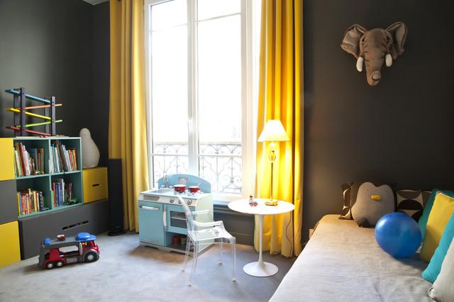 Chambres d 39 enfants dans un appartement paris for Chambre a paris