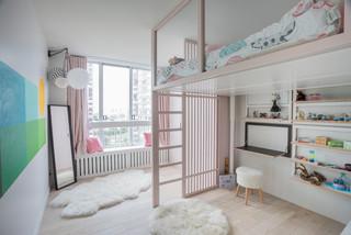 Chambre D Enfant Avec Lit Mezzanine Photos Et Idees Deco
