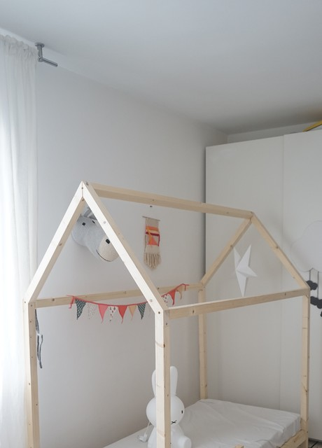 diy r aliser un lit cabane pour les enfants. Black Bedroom Furniture Sets. Home Design Ideas