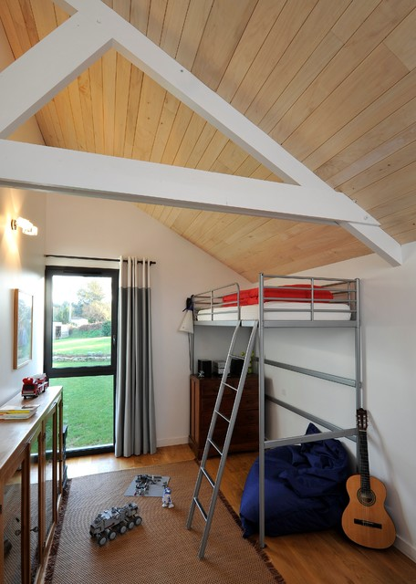 Extension bois pour enfants contemporain chambre d for Extension chambre