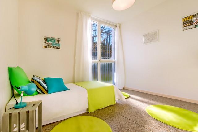 Home staging appartement t4 vide classique chambre d for Deco appartement t4