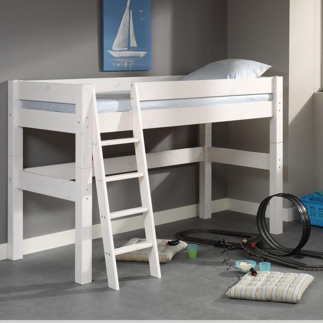 lit mi hauteur bois massif 90x200 classique chambre d 39 enfant other metro par alfred et. Black Bedroom Furniture Sets. Home Design Ideas