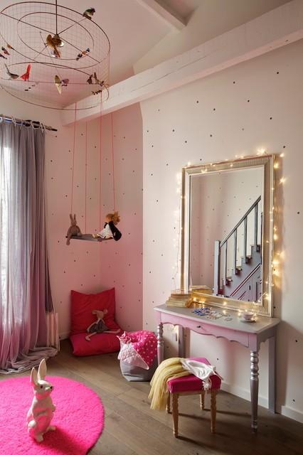 Loft à neuilly sur Seine contemporain-chambre-d-enfant