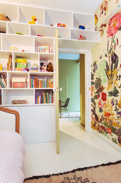 Loft Familial Aux Batignolles Contemporain Chambre D 39 Enfant Other Metro Par 2design