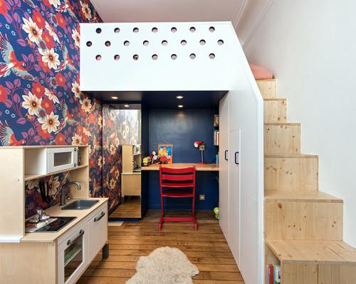 Que pensez-vous d\'une mezzanine dans une chambre d\'enfant ?