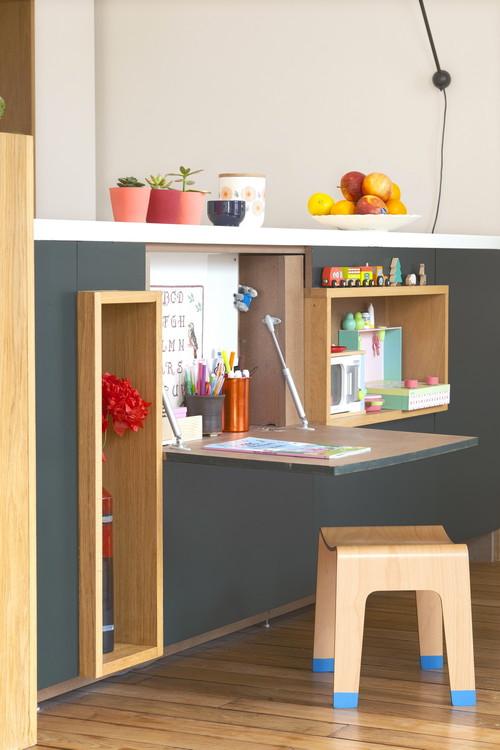 bureau rabattable pour enfant