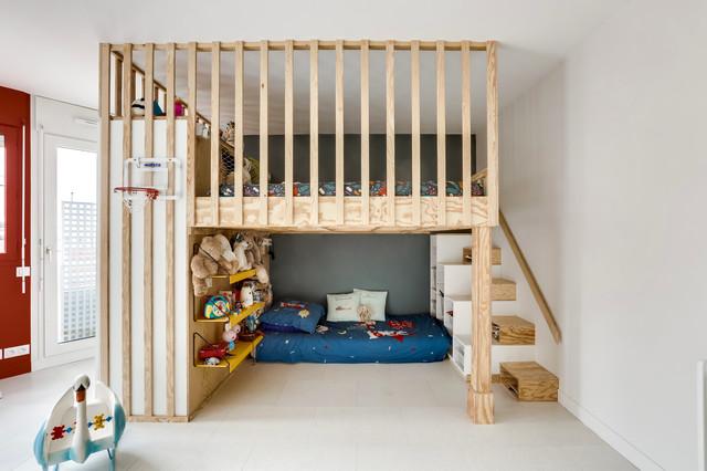 Conseils De Pro Pour Amenager L Espace Sous Un Lit Mezzanine