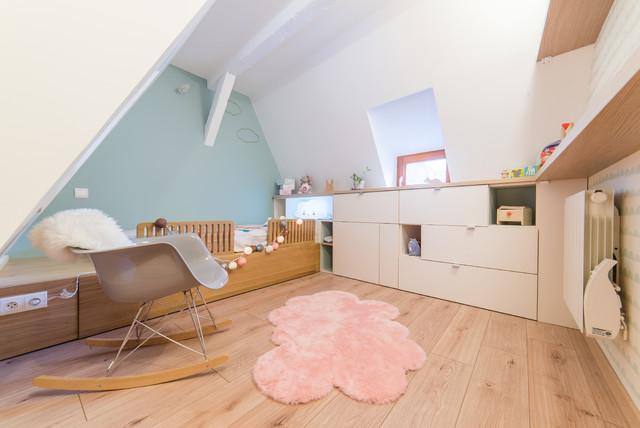 Projet Tc Amenagement Chambre Enfant De Style Scandinave 1