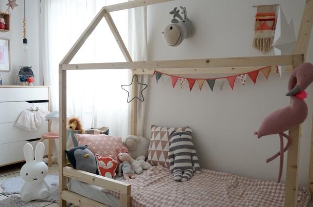 hausbett f r kinder selber bauen anleitung. Black Bedroom Furniture Sets. Home Design Ideas
