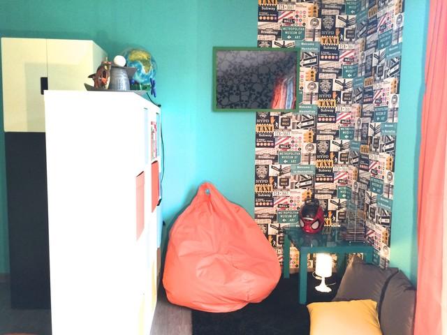 Une chambre super héros pour petit garçon - Contemporary ...
