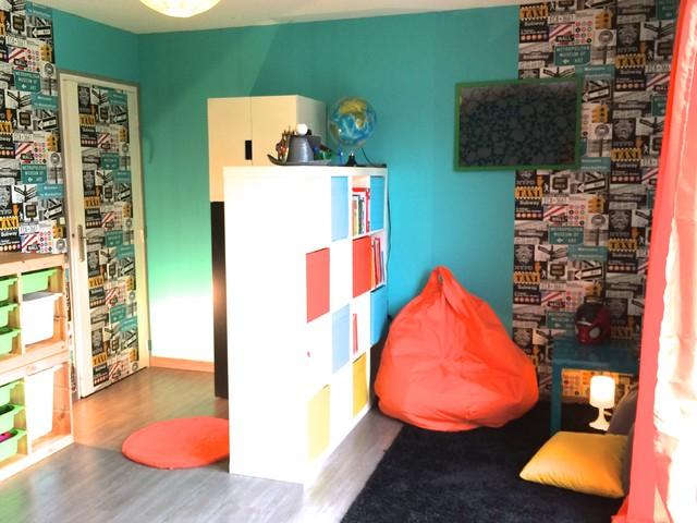 Chambre de petit garon decoration chambre petit garcon for Peinture chambre petit garcon