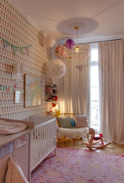 16ÈME NORD Paris 16 scandinave-chambre-de-bebe