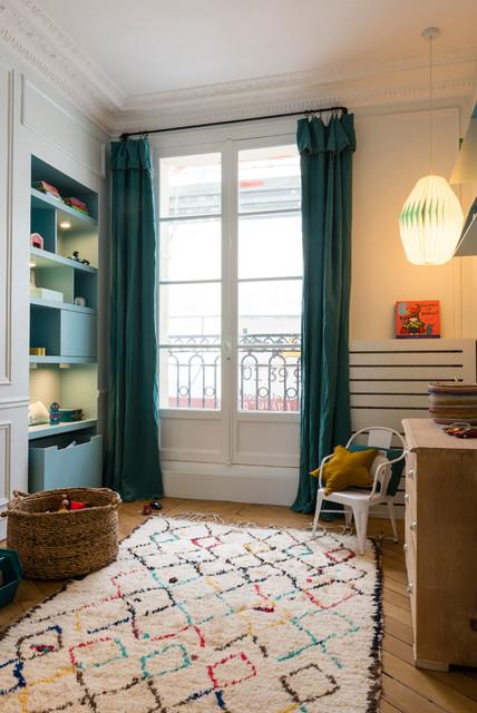 Appartement 96m2 paris 17 for Chambre bebe paris