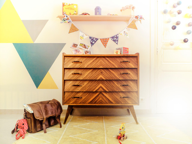 chambre d 39 enfant vintage scandinave chambre de b b montpellier. Black Bedroom Furniture Sets. Home Design Ideas
