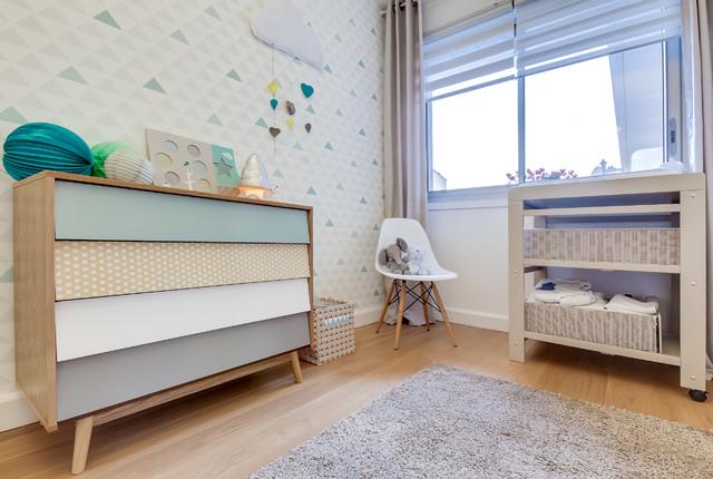 Chambre de bébé feng shui scandinave - Scandinave - Chambre ...