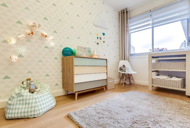 Aménagement feng shui d\'une chambre de bébé style scandinave ...