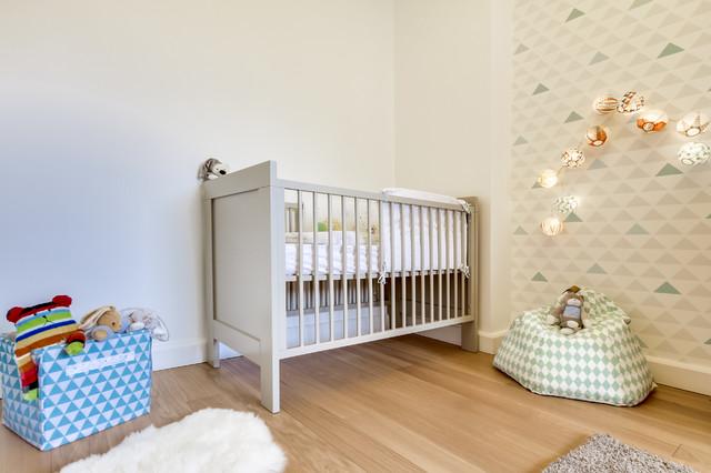 Chambre de bébé feng shui scandinave - Scandinavian - Nursery ...