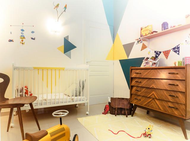 Chambre Vintage 50\'s - Rétro - Chambre de Bébé - Montpellier