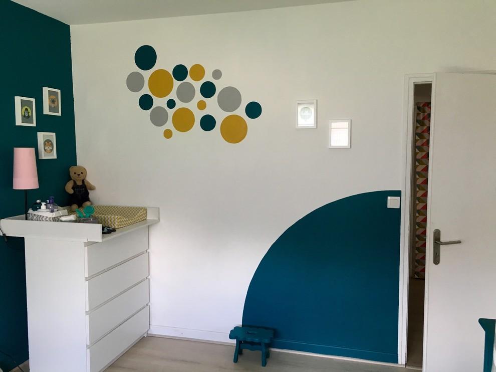Chez Albane Et Julien Modern Nursery Nantes By Home By Eva