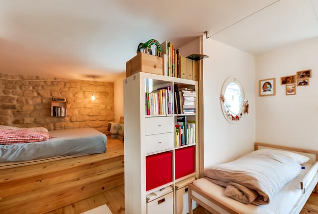 duplex caulaincourt eclectic nursery paris by meero. Black Bedroom Furniture Sets. Home Design Ideas