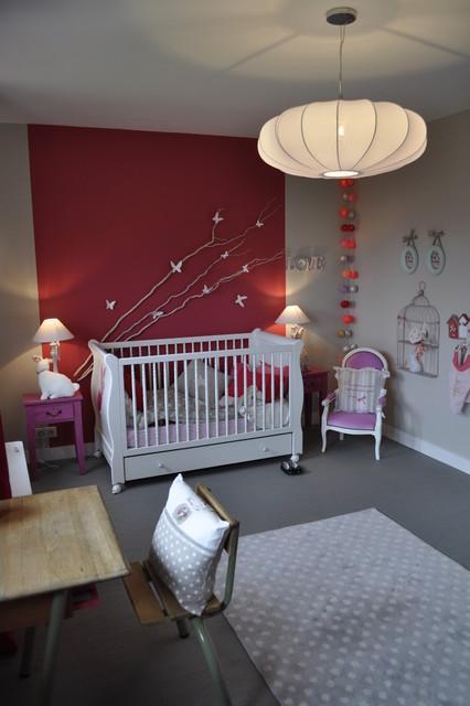 maison familiale contemporaine chambre de b b. Black Bedroom Furniture Sets. Home Design Ideas