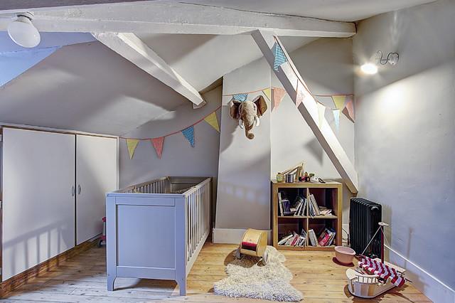 Rénovation d\'une maison de ville - Classique Chic - Chambre de Bébé ...