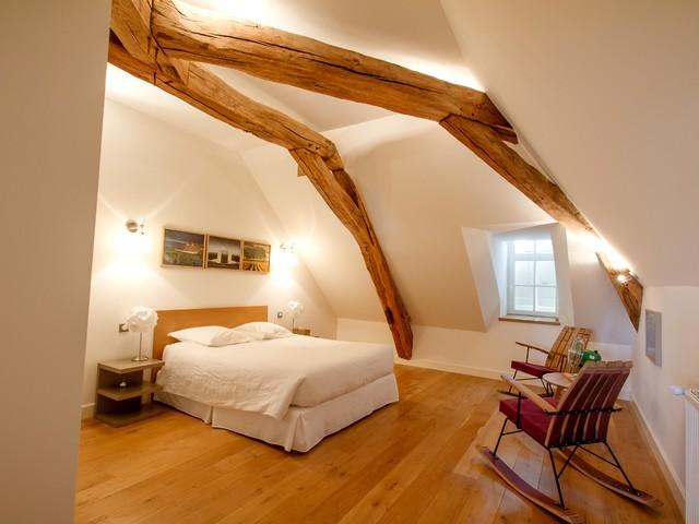 Aménagement d\'une maison d\'hôtes en Bourgogne - Moderne - Chambre ...