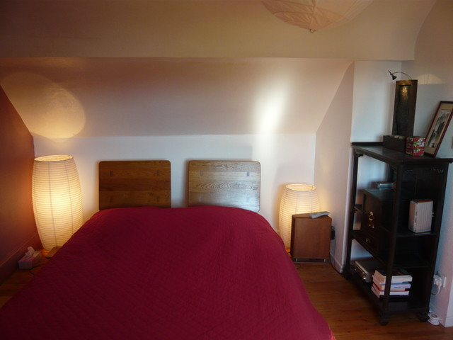 Am nagement de comble en chambre dressing et salle de bain traditional bedroom other for Amenagement salle de bain
